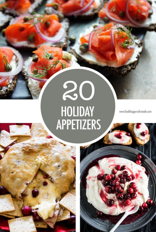 20 Holiday Appetizers | Food Bloggers of Canada