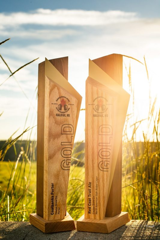 Canadian Craft Beer Award Gold Winners from Coulee Brew Co