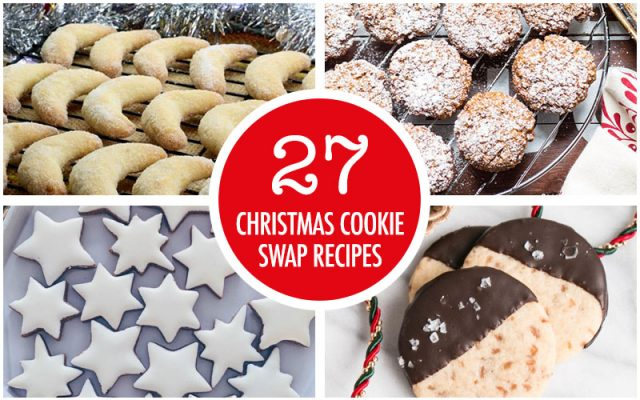 27 Christmas Cookie Swap Recipe Ideas | Food Bloggers of Canada