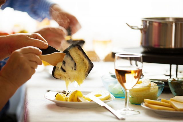 Canadian Cheese: Raclette   Food Bloggers of Canada