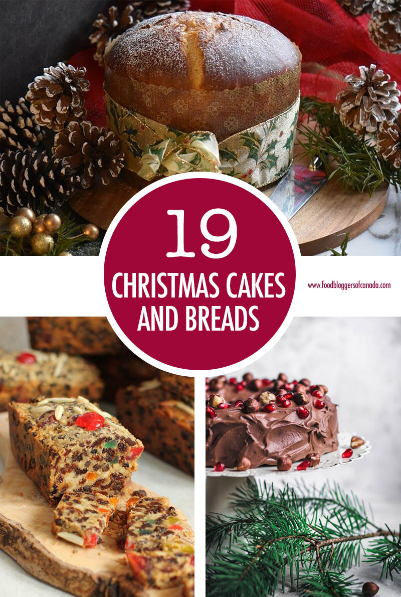 19 Christmas Cakes and Breads | Food Bloggers of Canada
