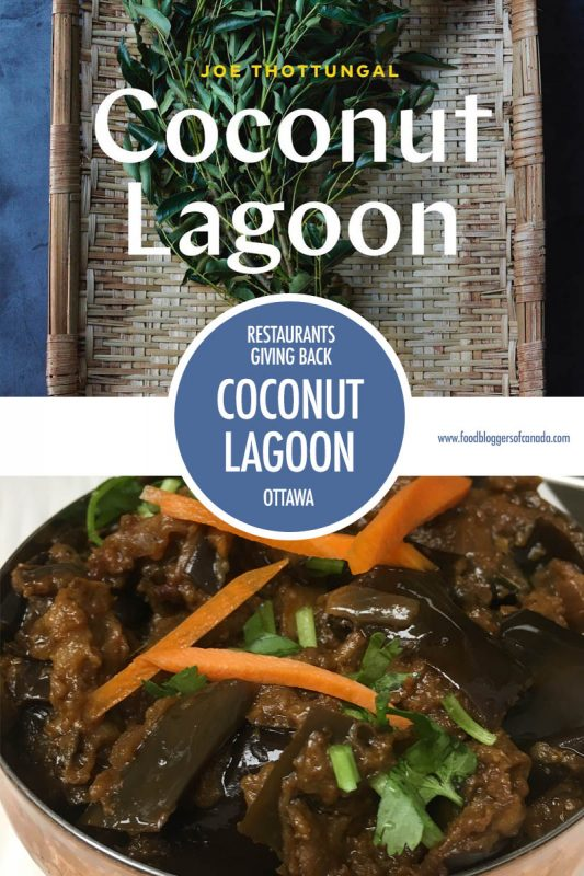 Restaurants Giving Back Coconut Lagoon | Food Bloggers of Canada