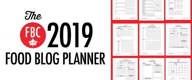 FBC Food Blog Planner
