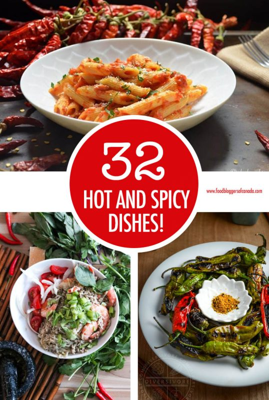 Over 30 Hot and Spicy Dishes
