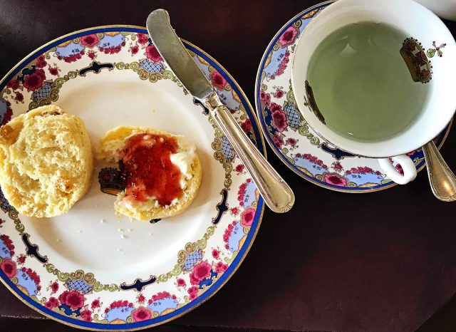 Scones and Tea At The Empress Hotel