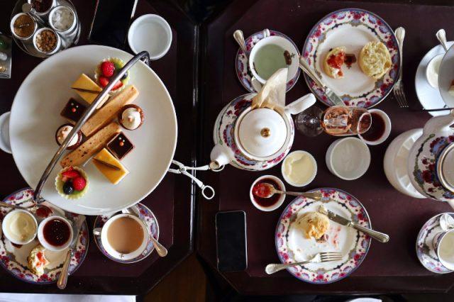 High Tea at Victoria's Empress Hotel