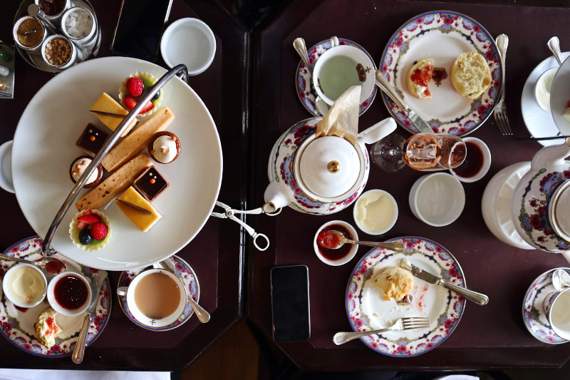 High Tea at Victoria's Empress Hotel