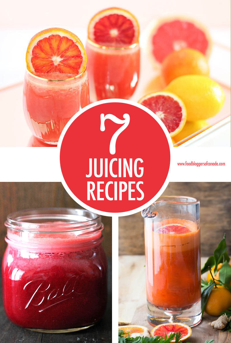 7 Powerhouse Juicing Recipes | Food Bloggers of Canada