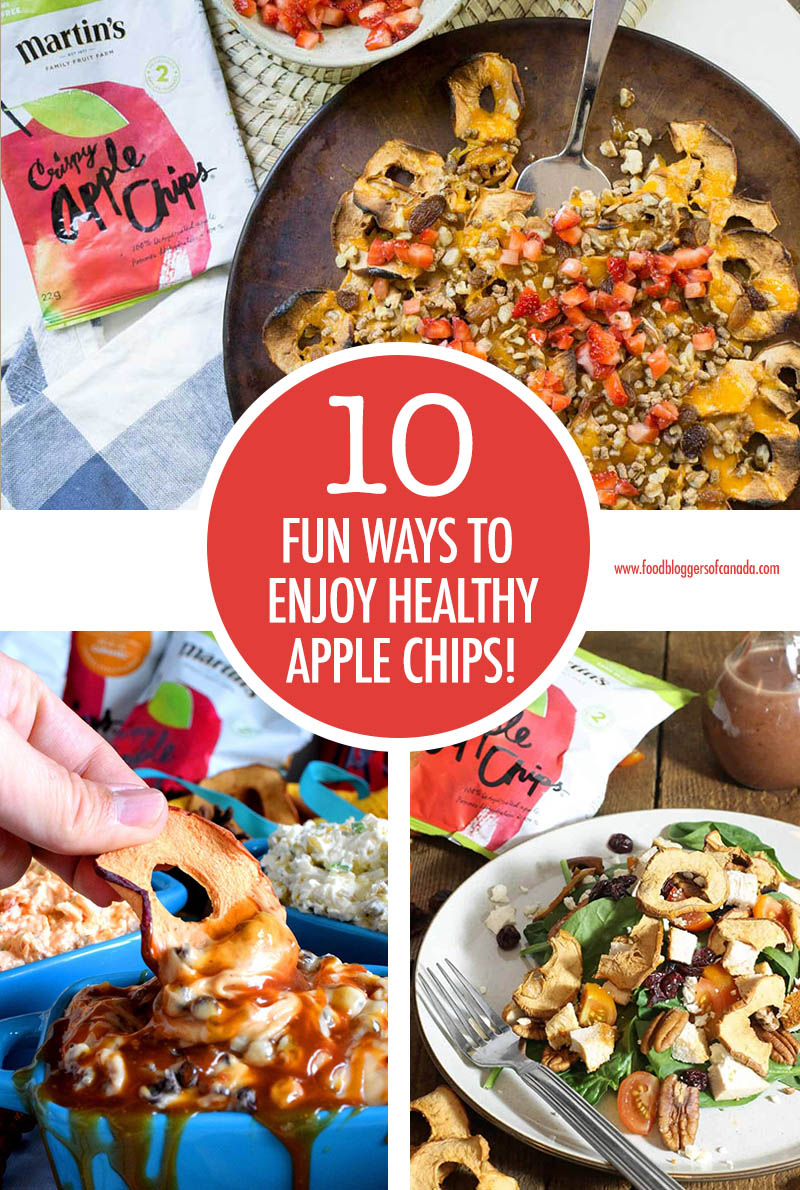 10 Fun Ways To Enjoy Healthy Apple Snacks | Food Bloggers of Canada