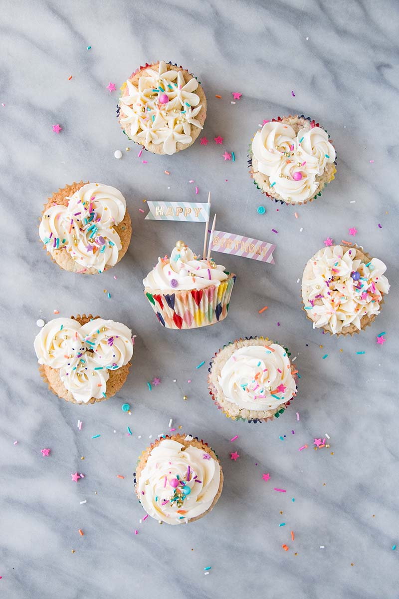 Momfuku Milk Bar Birthday Cupcakes by My Kitchen Love