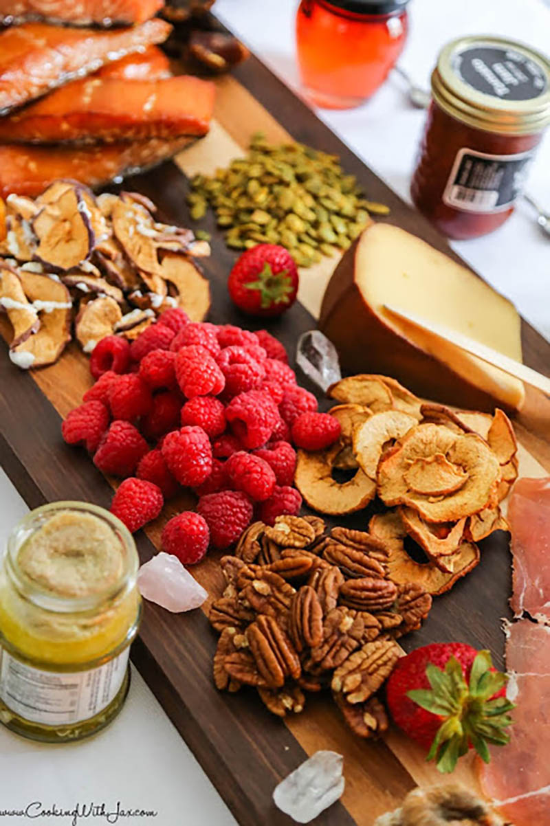 Apple Chip Charcuterie Platter