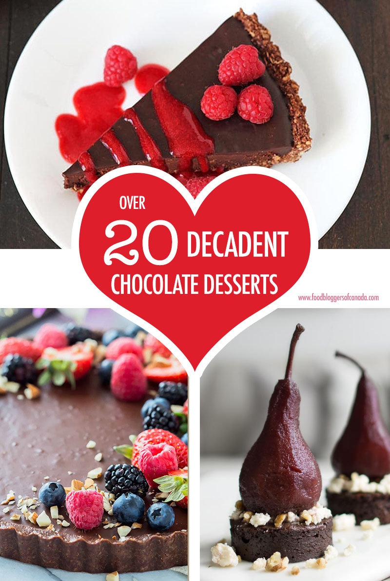 Over 20 Decadent Chocolate Desserts | Food Bloggers of Canada