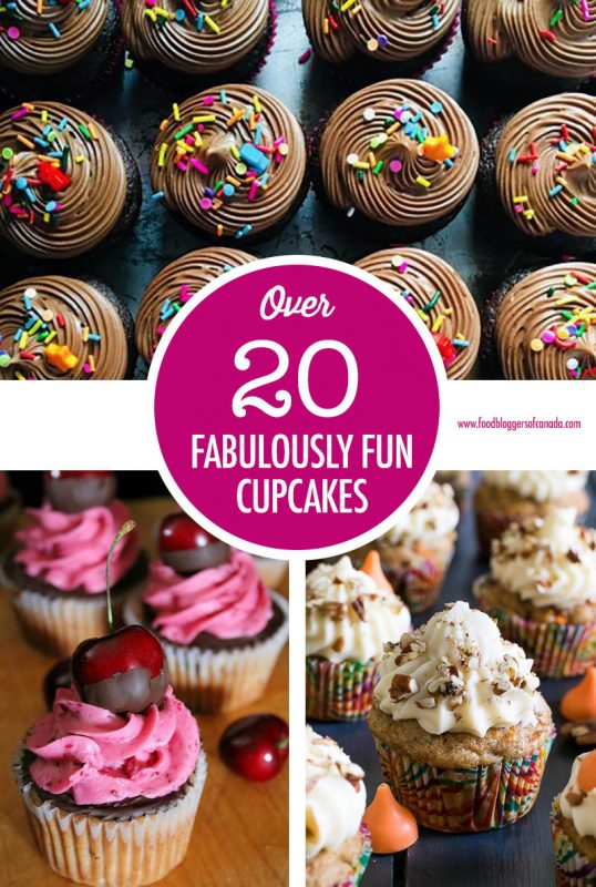Over 20 Fabulously Fun Cupcakes | Food Bloggers of Canada