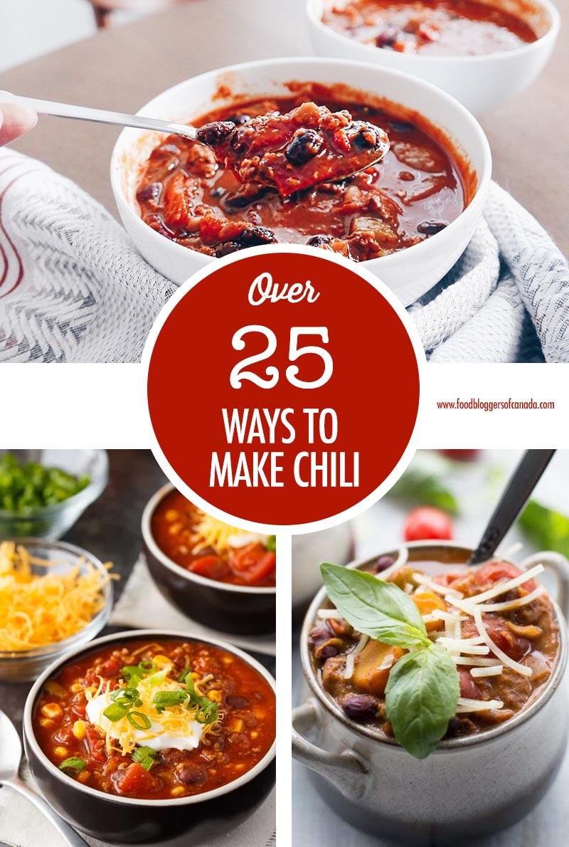 Over 25 Ways To Make Chili