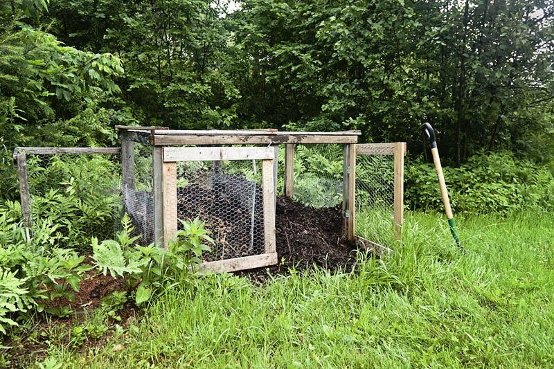 Rural Compost Pile