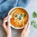 Thai Vegan Coconut Soup | Choosing Chia