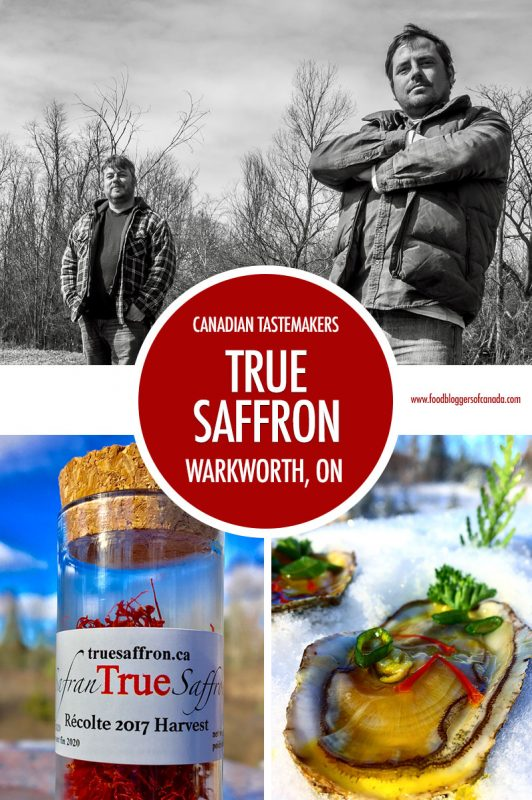 Canadian Tastemakers: True Saffron   Food Bloggers of Canada
