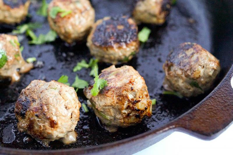 Lemongrass Meatballs | Balancing Andie