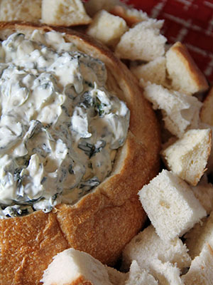 Spinach Dip | Jo and Sue