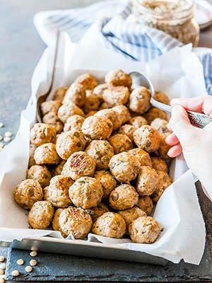 Lentil Turkey Meatballs | Imagelicious