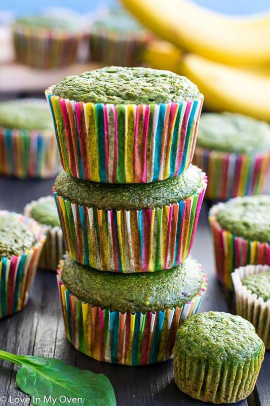 Green Monster Muffins | Love In My Oven