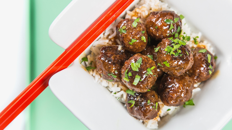 Asian Hoisin Meatballs | Bite Me More