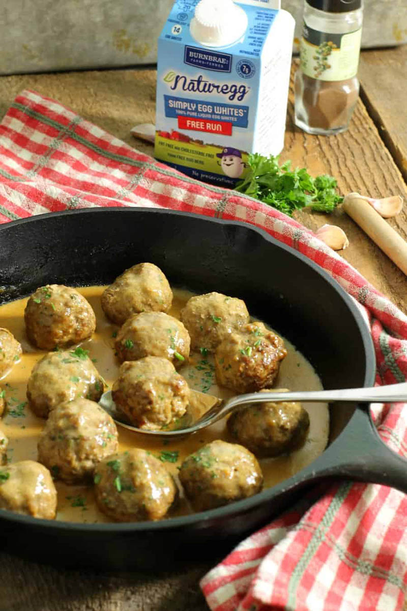 Freezer Friendly Swedish Meatballs | Earth, Food and Fire