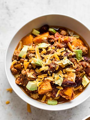 Turkey and Sweet Potato Chili | Salt and Lavender