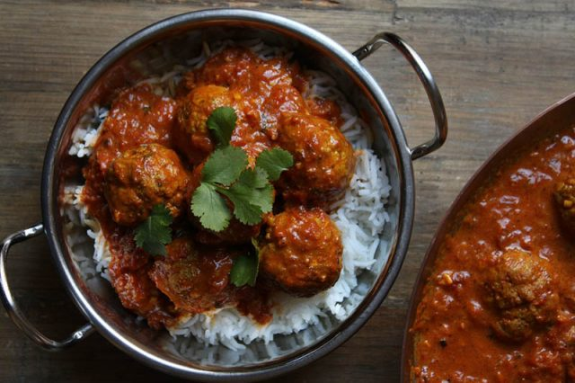 Butter Chicken Meatballs | Dish n the Kitchen