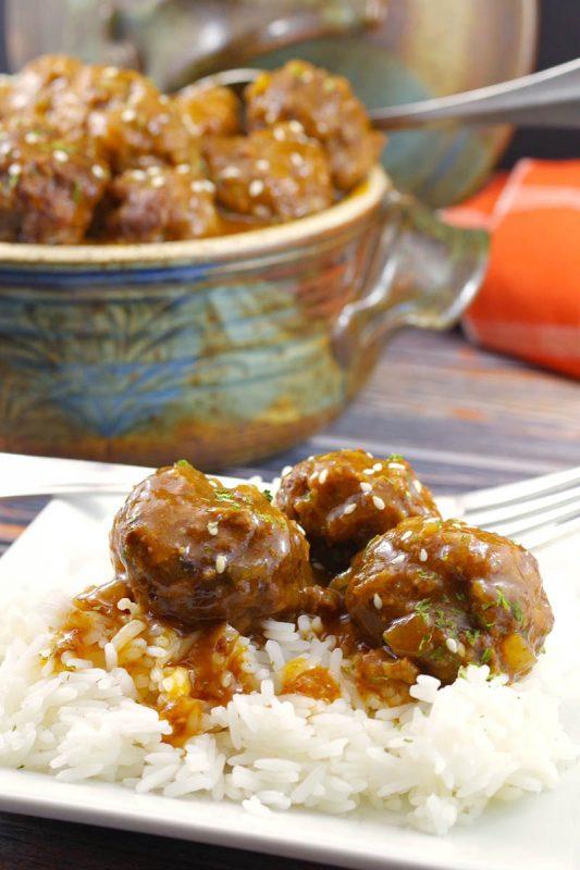 Sweet and Sour Meatballs | Food Meanderings