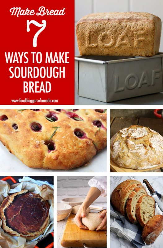 7 Sourdough Bread Recipes