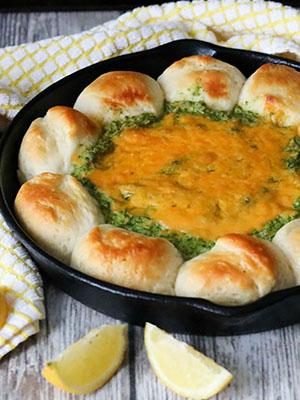 Spinach Artichoke Dip | Girl Heart Food
