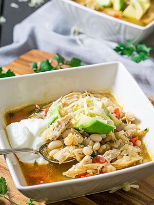 Easy Leftover White Chicken Chili | Love In My Oven