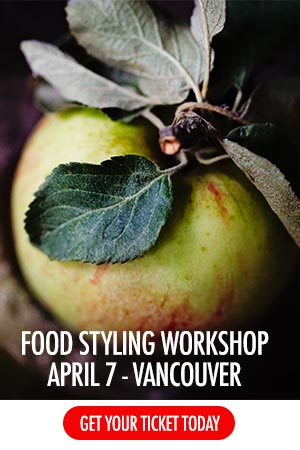 Vancouver Food Photography Workshop