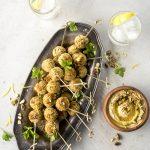 Pistachio Falafel - French Appetizers