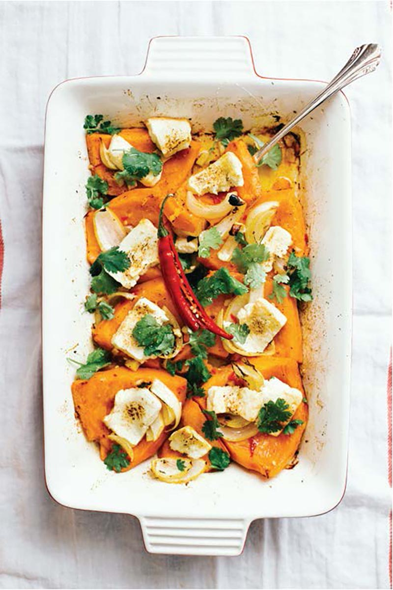 Baked Squash by Allison Day (from the Modern Lunch cookbook)