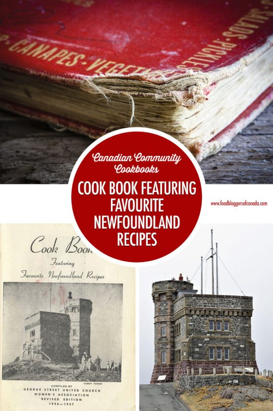 Cook Book Featuring Favourite Newfounland Recipes