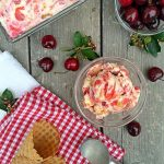 Sour Cherry Cheesecake Ice Cream | Shifting Roots