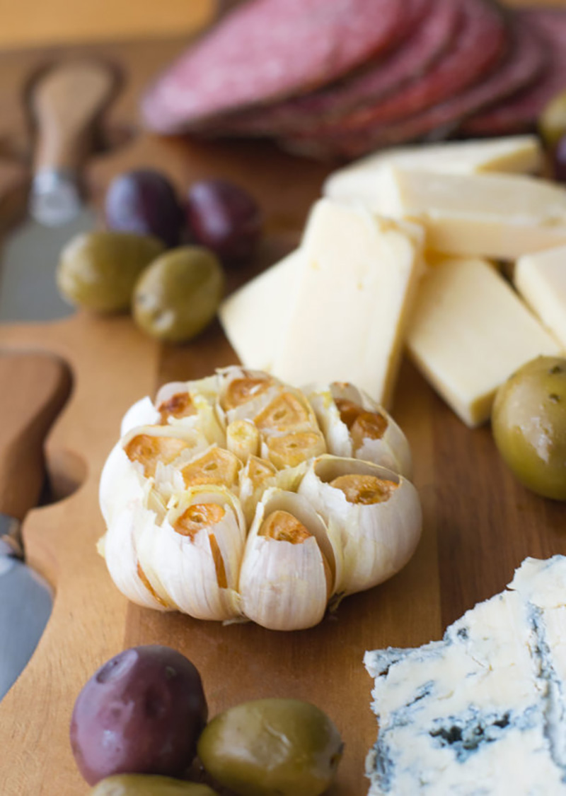 Easy Roasted Garlic For a Charcuterie Board | Mommy Kat and Kids
