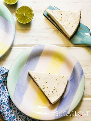 No Bake Lime Cheesecake | SugarLoveSpices