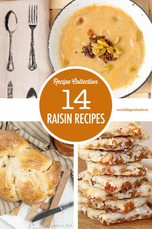 14 Raisin Recipes | Food Bloggers of Canada