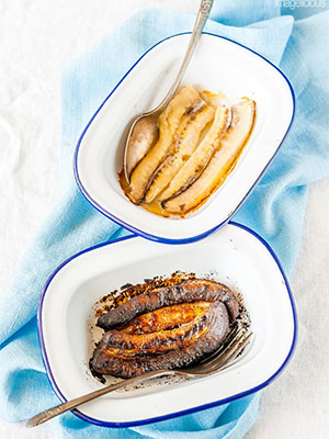 Roasted Bananas 2 Ways | Imagelicious