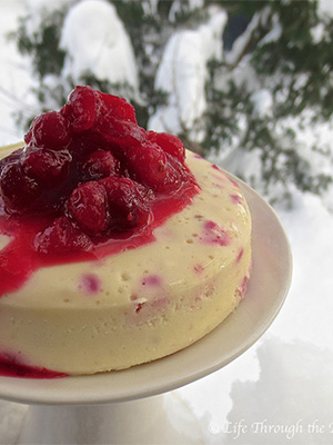 Cranberry Cheesecake | Urban Cottage Life