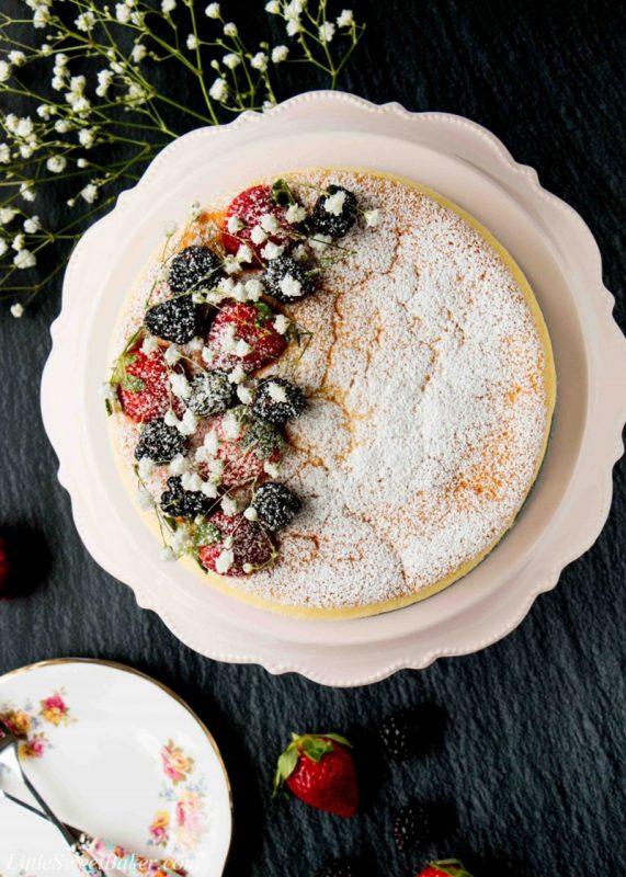 Japanese Cheesecake | Little Sweet Baker