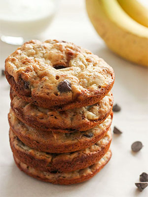 Healthy Banana Chocolate Chip Donuts | Delicious on a Dime