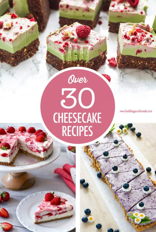 The Ultimate Cheesecake Recipe Collection | Food Bloggers of Canada