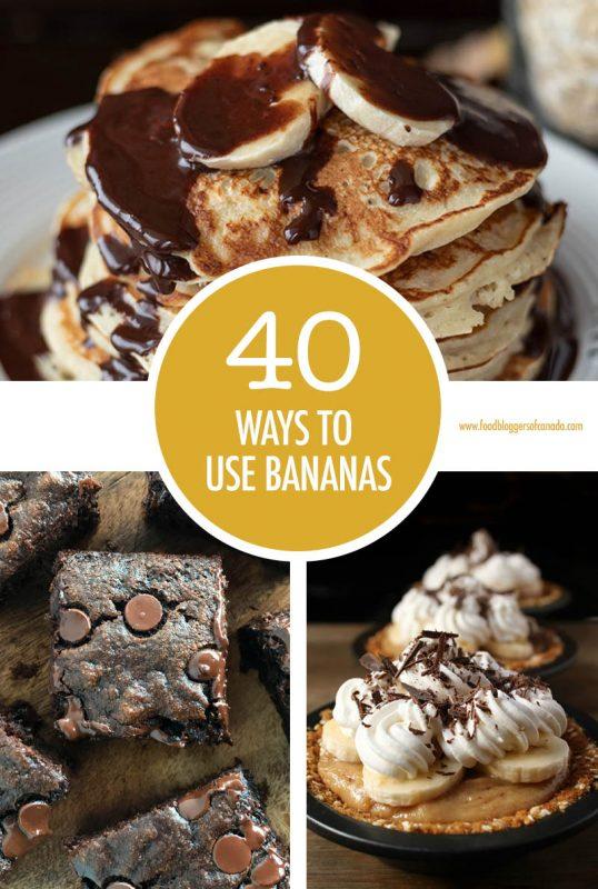 40 Ways To Use Bananas