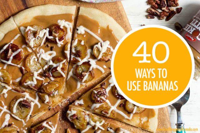 40 Ways To Use Bananas | Food Bloggers of Canada