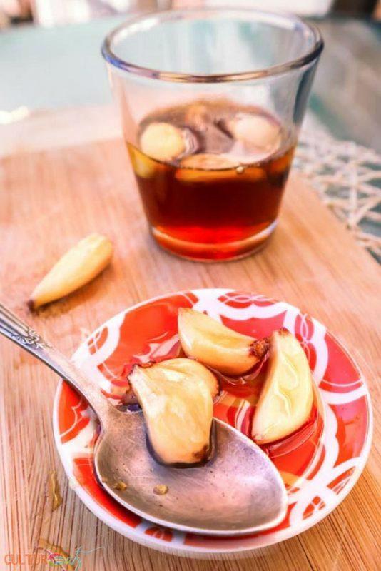 Fermented Honey with Garlic   CulturEatz