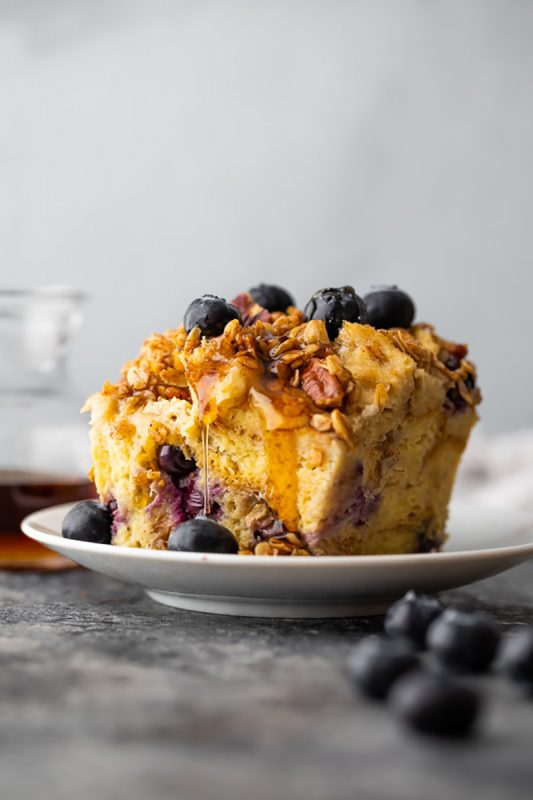 Slow Cooker French Toast Casserole | Sweet Peas and Saffron